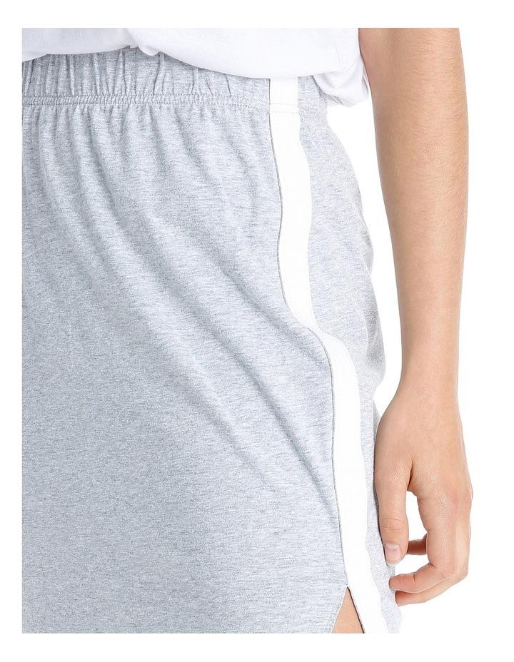 Sporty Stripe Tube Skirt MSCW18246 image 4