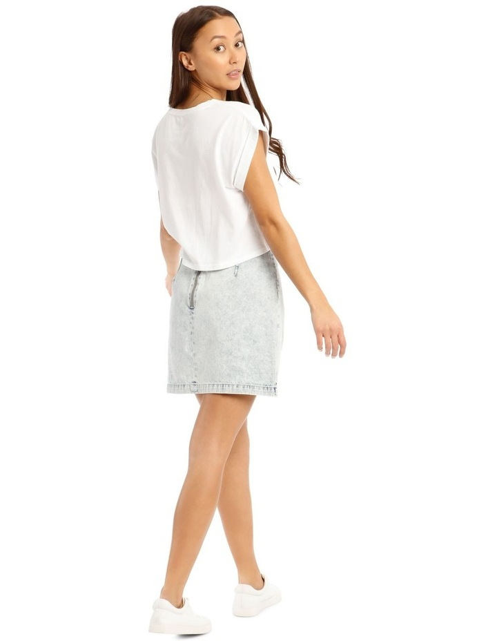 A Line Denim Skirt image 3