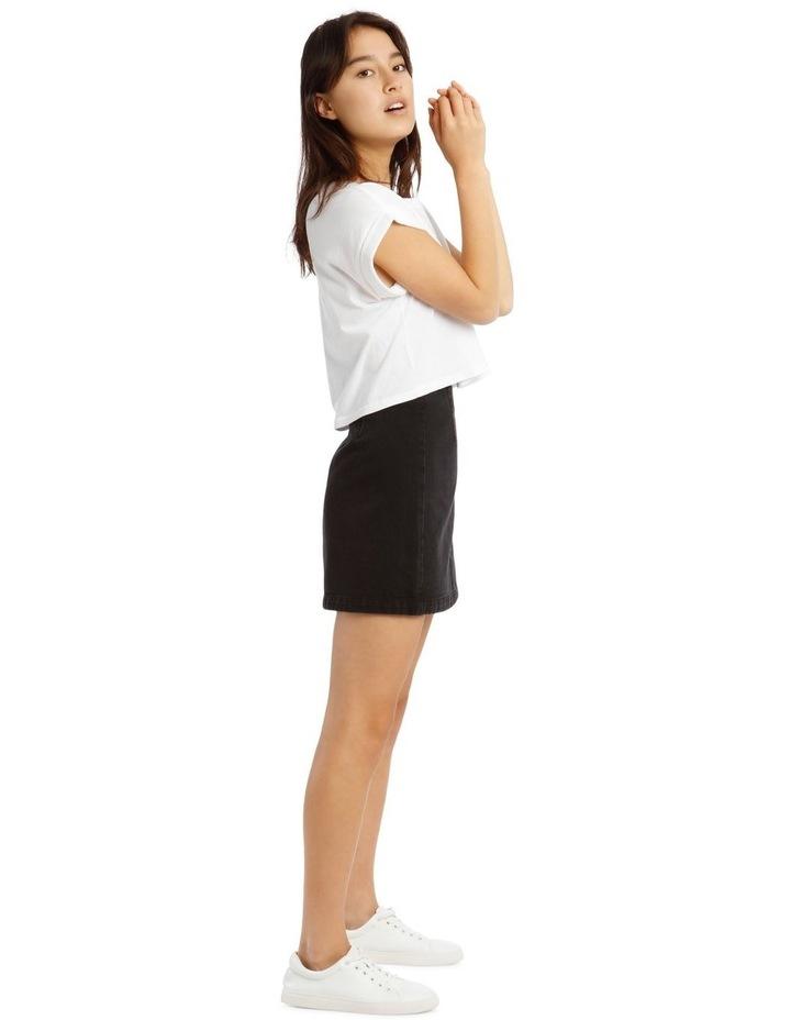 A Line Denim Skirt image 2