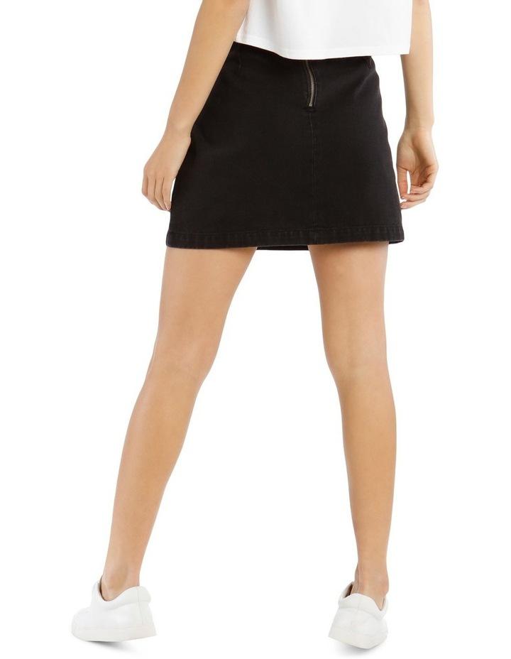 A Line Denim Skirt image 3