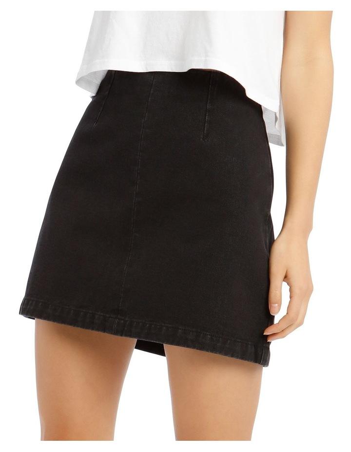A Line Denim Skirt image 4