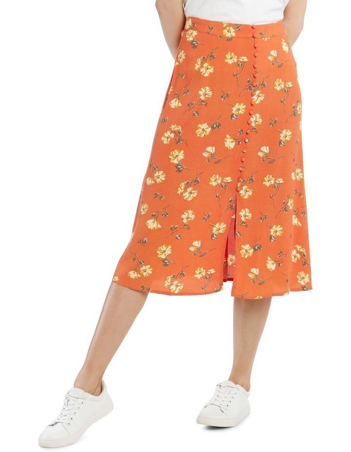 Button Thru Midi Skirt image 1