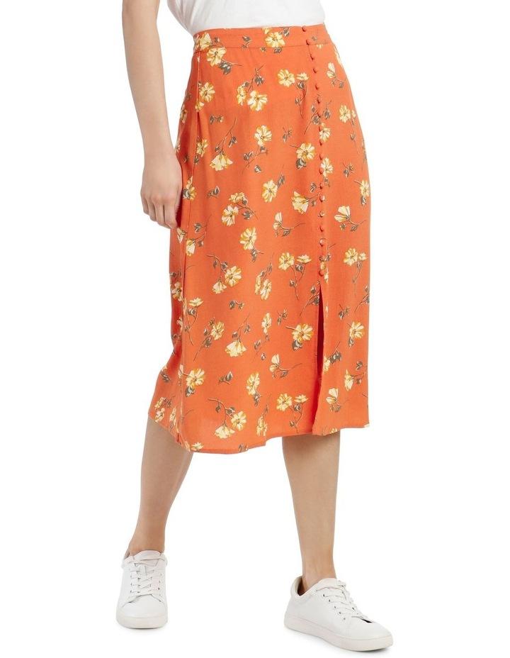 Button Thru Midi Skirt image 2