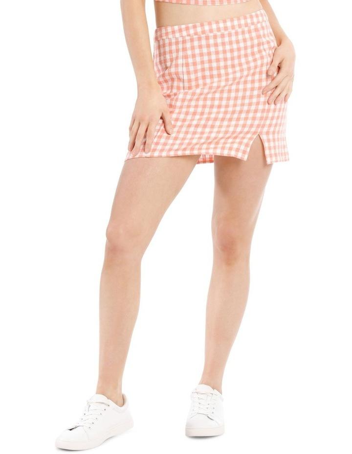 Mini Skirt With Side Split image 1