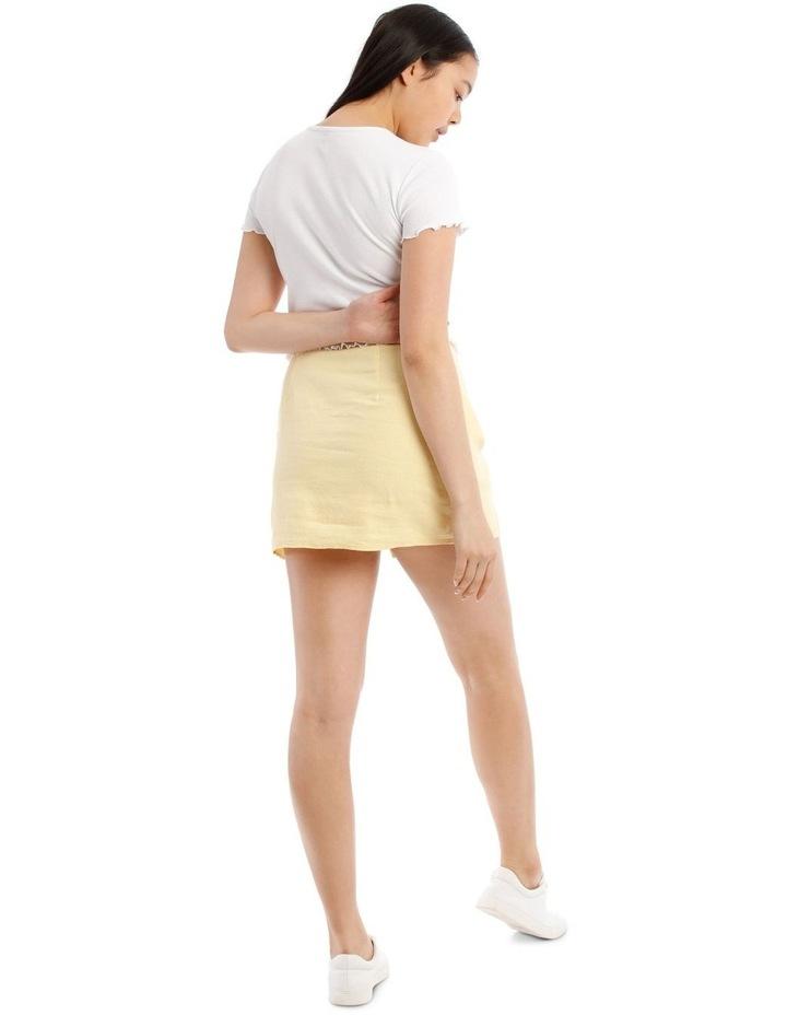 Mini Skirt With Side Split image 3