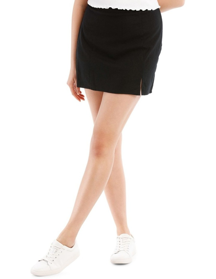 Mini Skirt With Side Split image 1