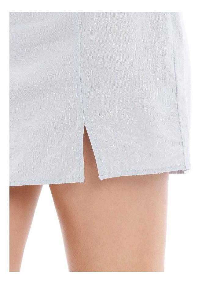 Mini Skirt With Side Split image 4