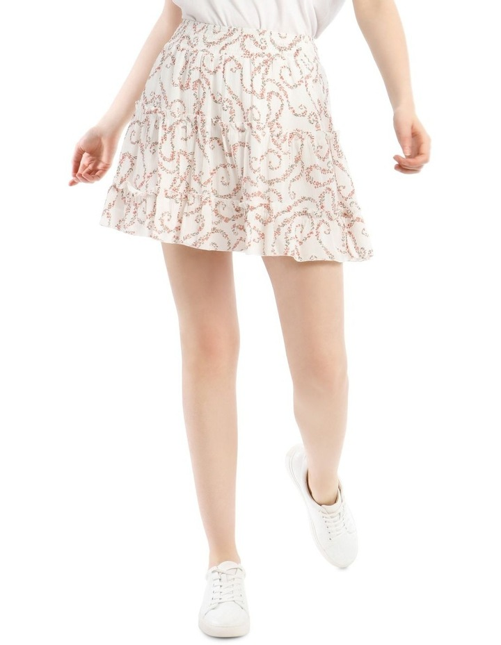 Tiered Ruffle Cheesecloth Skirt image 1
