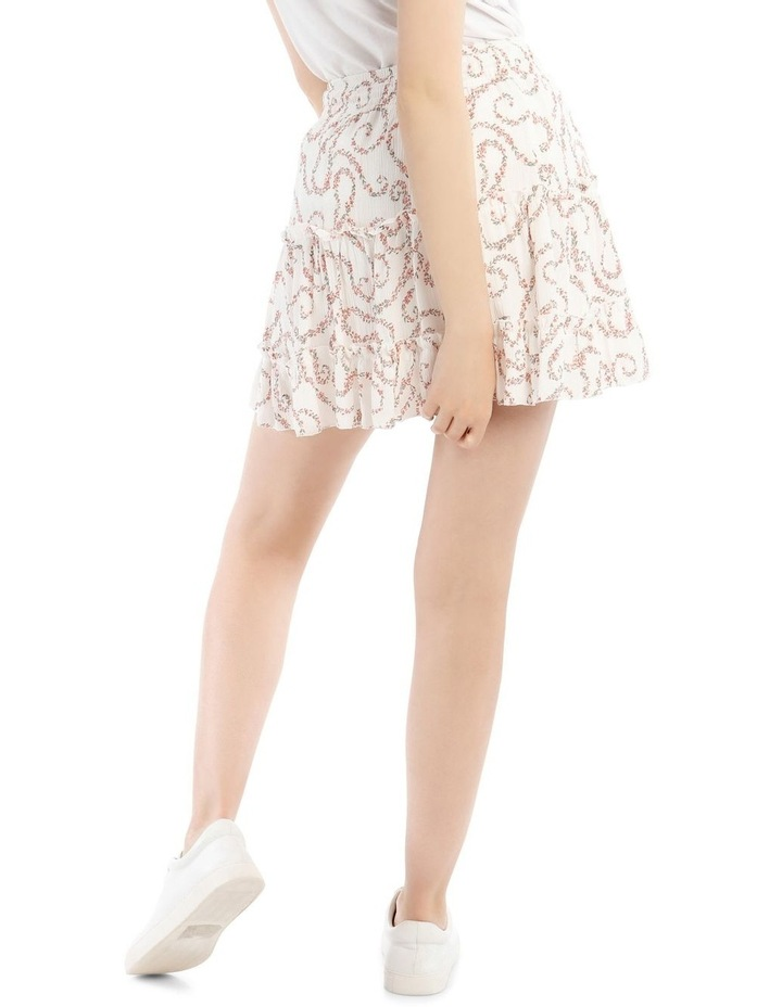 Tiered Ruffle Cheesecloth Skirt image 3