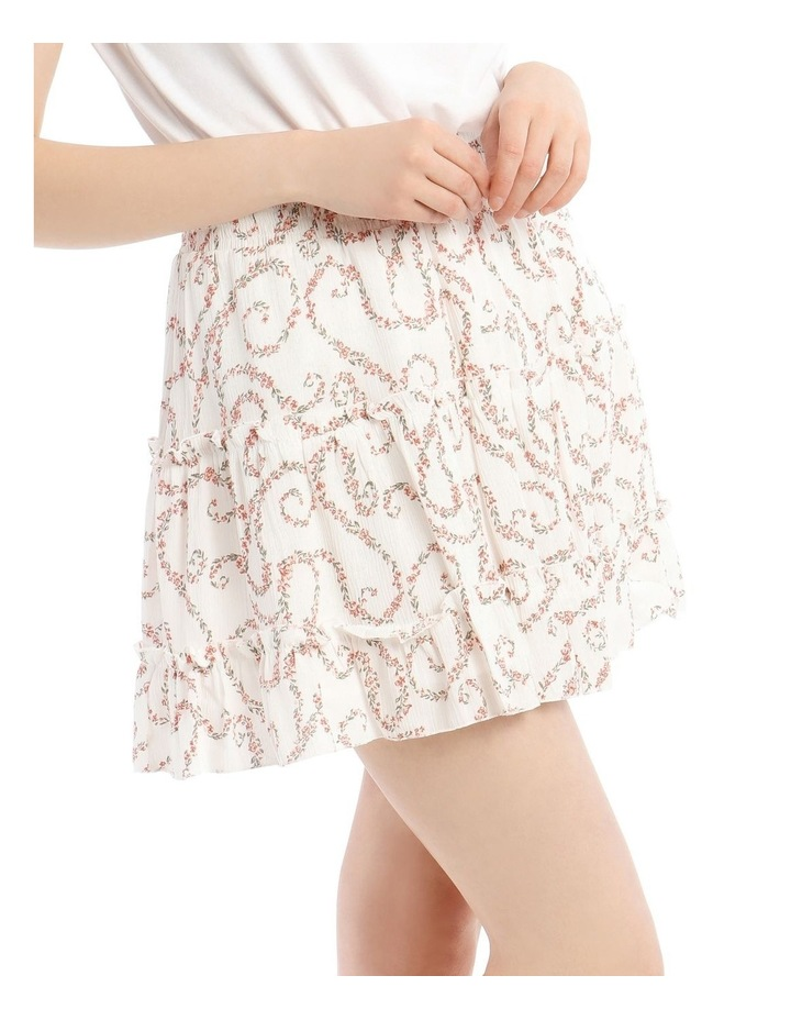 Tiered Ruffle Cheesecloth Skirt image 4
