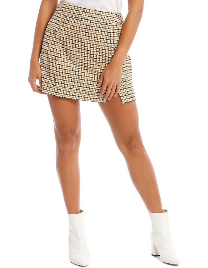 Mini Check Skirt image 1