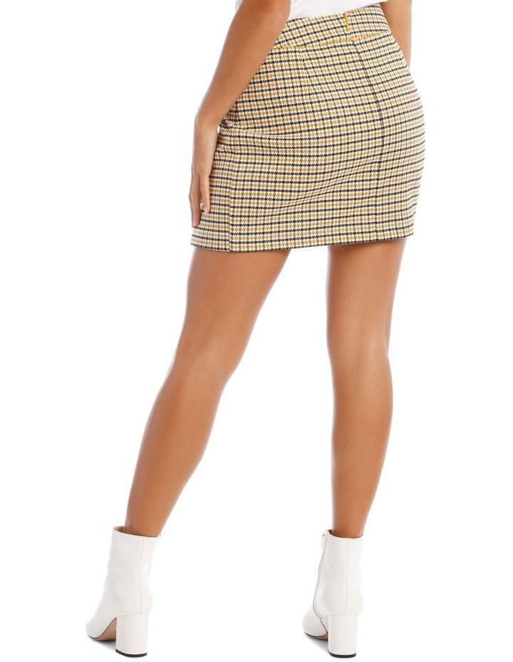 Mini Check Skirt image 3