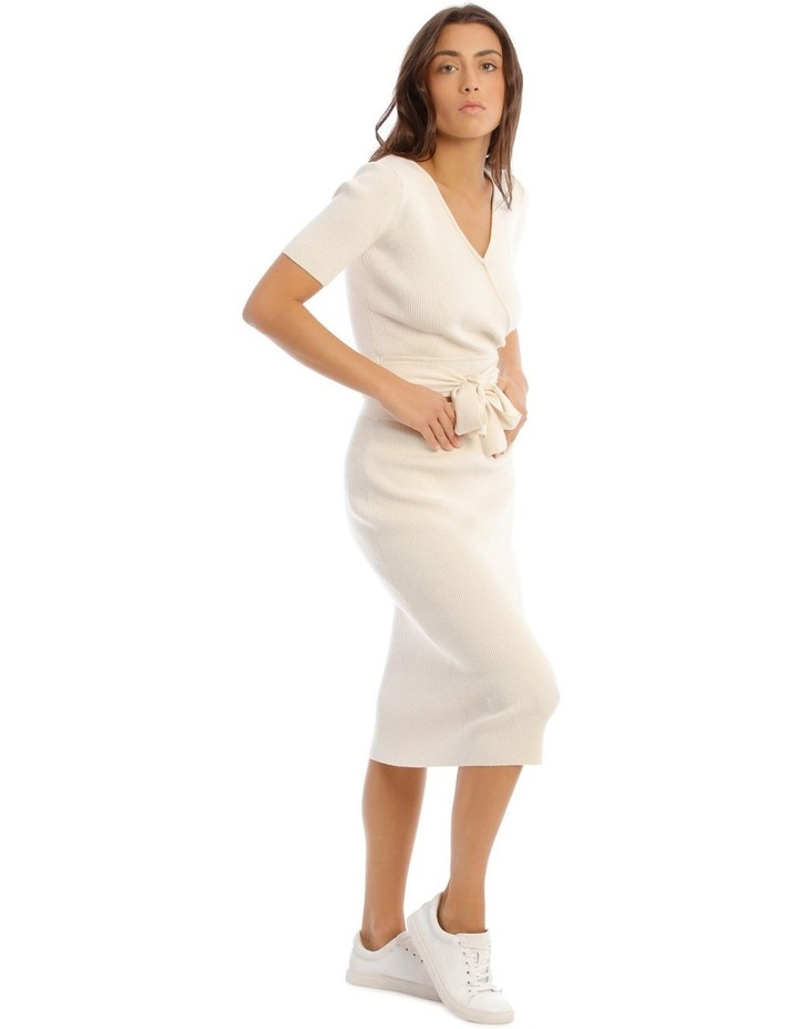 Knit Rib Midi Skirt image 2