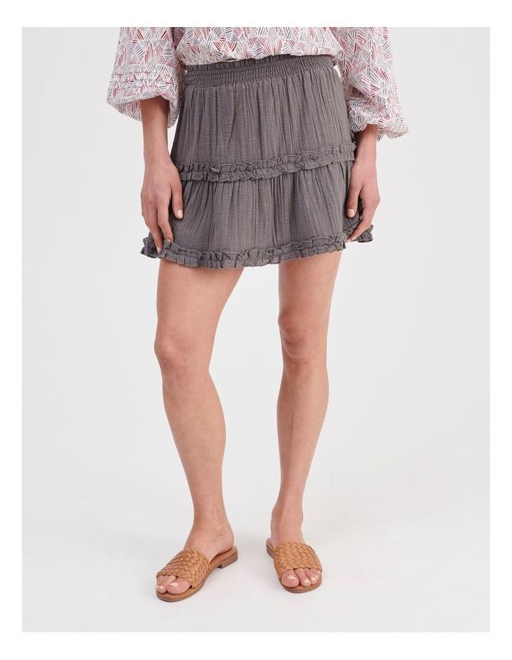 Textured Ruffle Skirt image 1