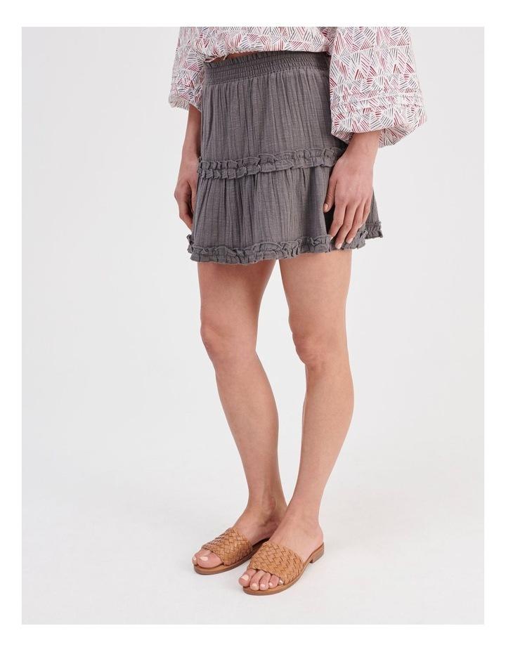 Textured Ruffle Skirt image 3