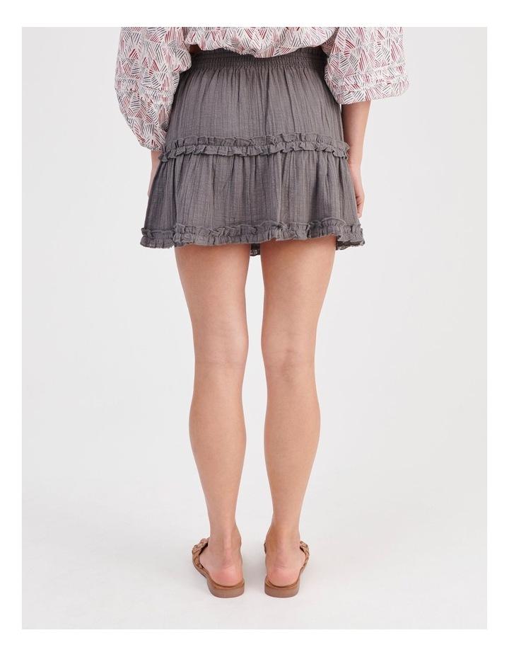 Textured Ruffle Skirt image 4