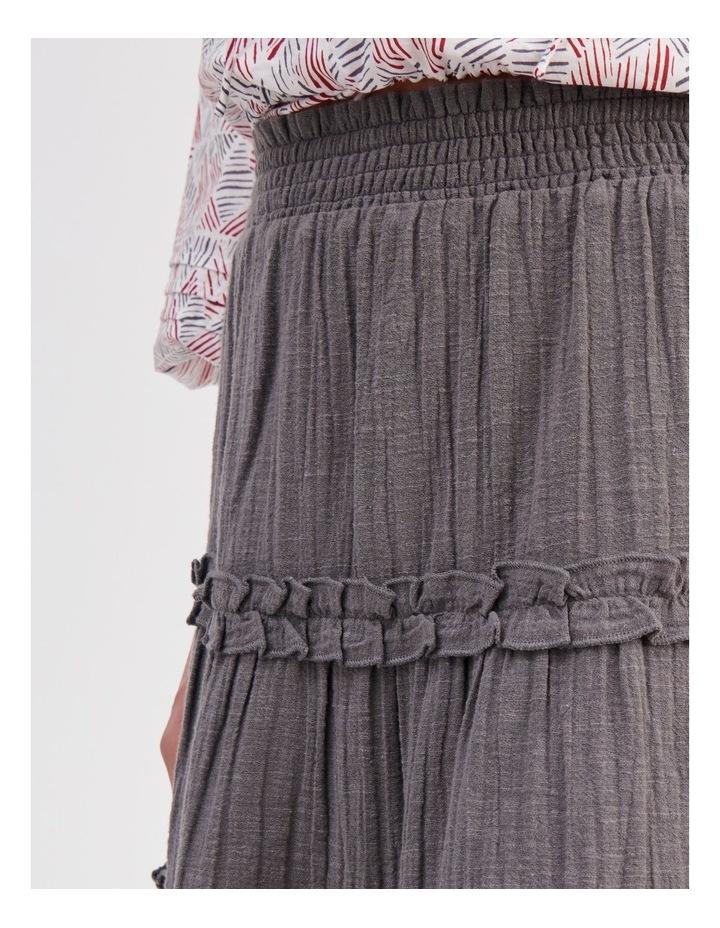 Textured Ruffle Skirt image 5