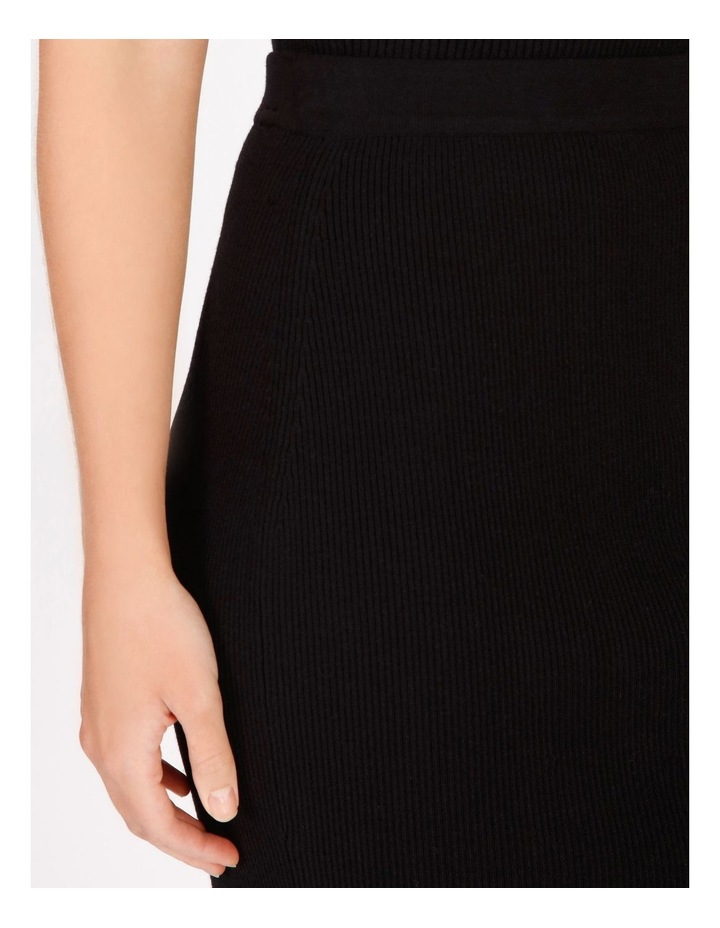 Knit Rib Midi Skirt image 4