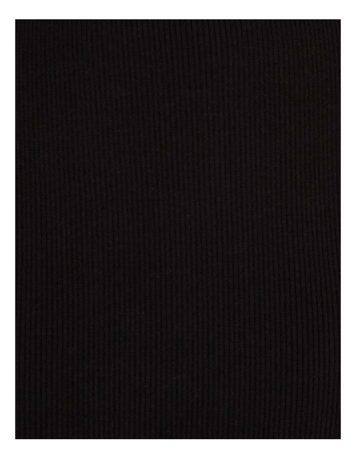 Knit Rib Midi Skirt image 5