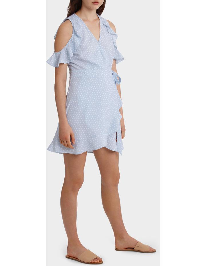 Ruffle Sleeve Wrap Front Dress image 2