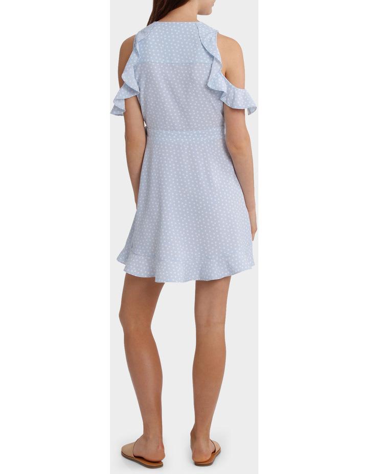 Ruffle Sleeve Wrap Front Dress image 3