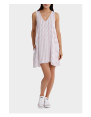 Miss Shop - Sleeveless Cheesecloth Dress