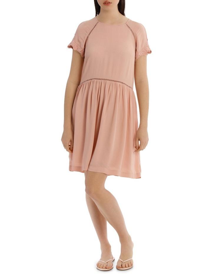LACE INSERT PRETTY DRESS image 1
