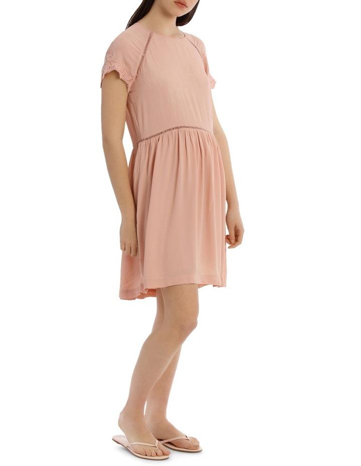 LACE INSERT PRETTY DRESS image 2