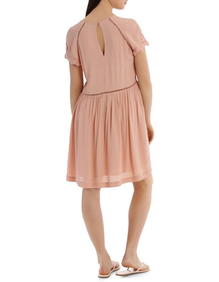 LACE INSERT PRETTY DRESS image 3