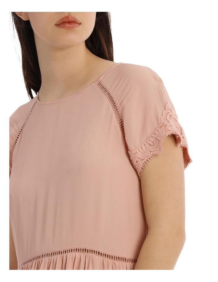 LACE INSERT PRETTY DRESS image 4