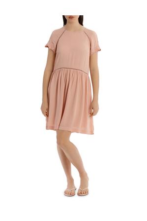 Miss Shop - LACE INSERT PRETTY DRESS