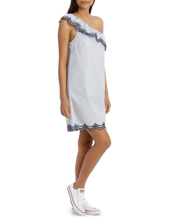 One Shoulder Scallop Dress image 2