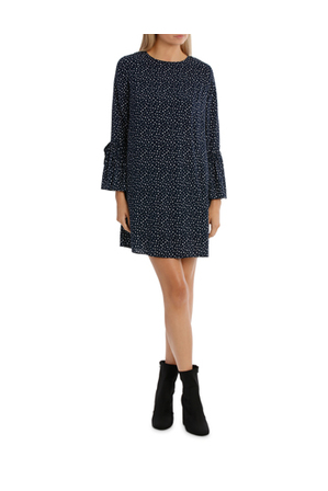 Miss Shop - Flute Sleeve Shift Dress