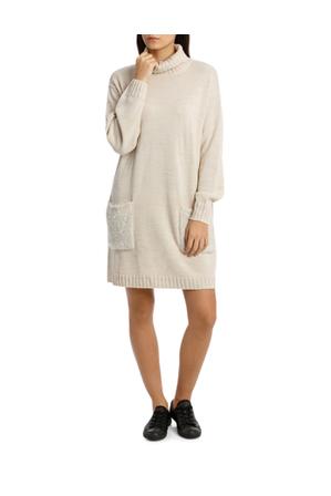 Miss Shop - Turtle Neck Dress