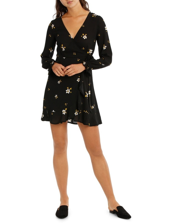 Long Sleeve Wrap Dress image 1