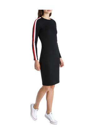 Miss Shop - Tipping Ponte Dress MSCW18231