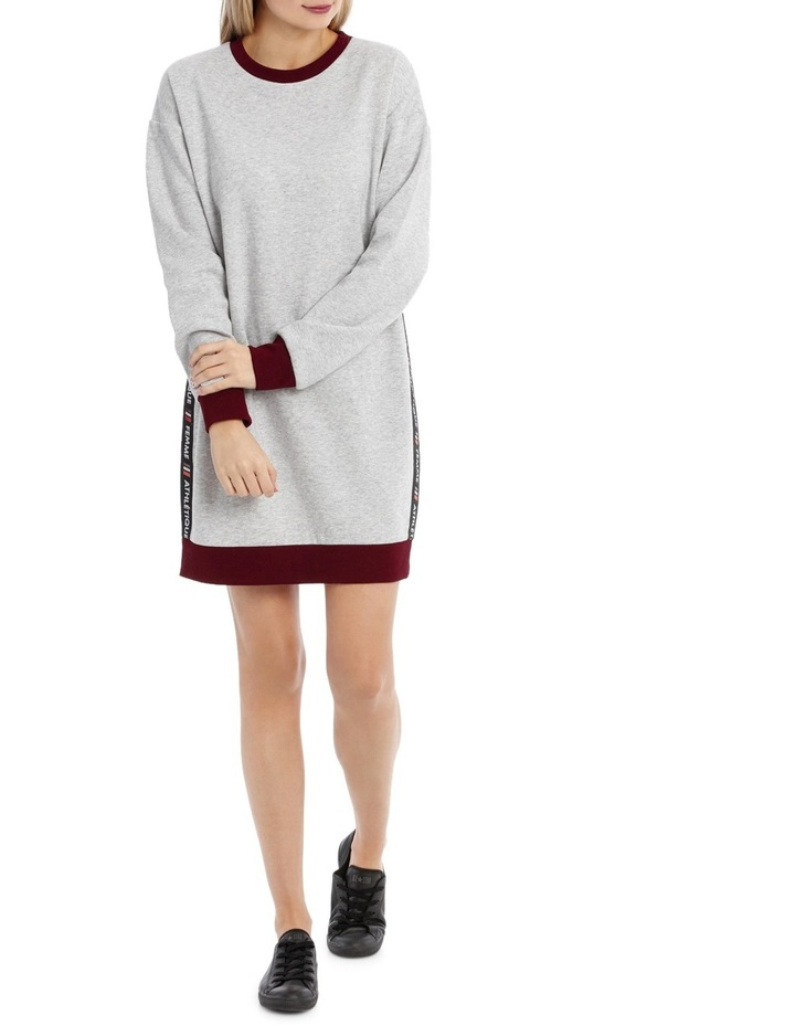 Tipping Sweat Dress MSCW18241 image 1