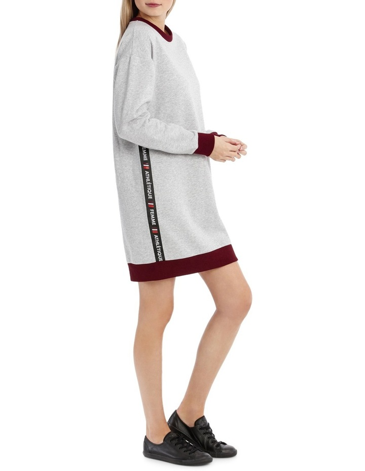 Tipping Sweat Dress MSCW18241 image 2