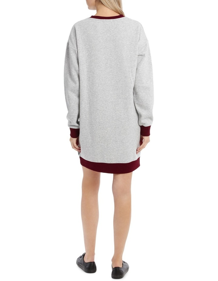 Tipping Sweat Dress MSCW18241 image 3