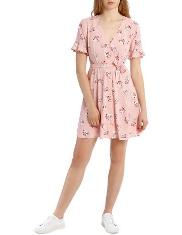 a49a679b456 Miss ShopFloaty Button Through Dress - Soft Pink Base Watercolour Floral  Print. Miss Shop Floaty Button Through Dress - Soft Pink Base Watercolour  Floral ...