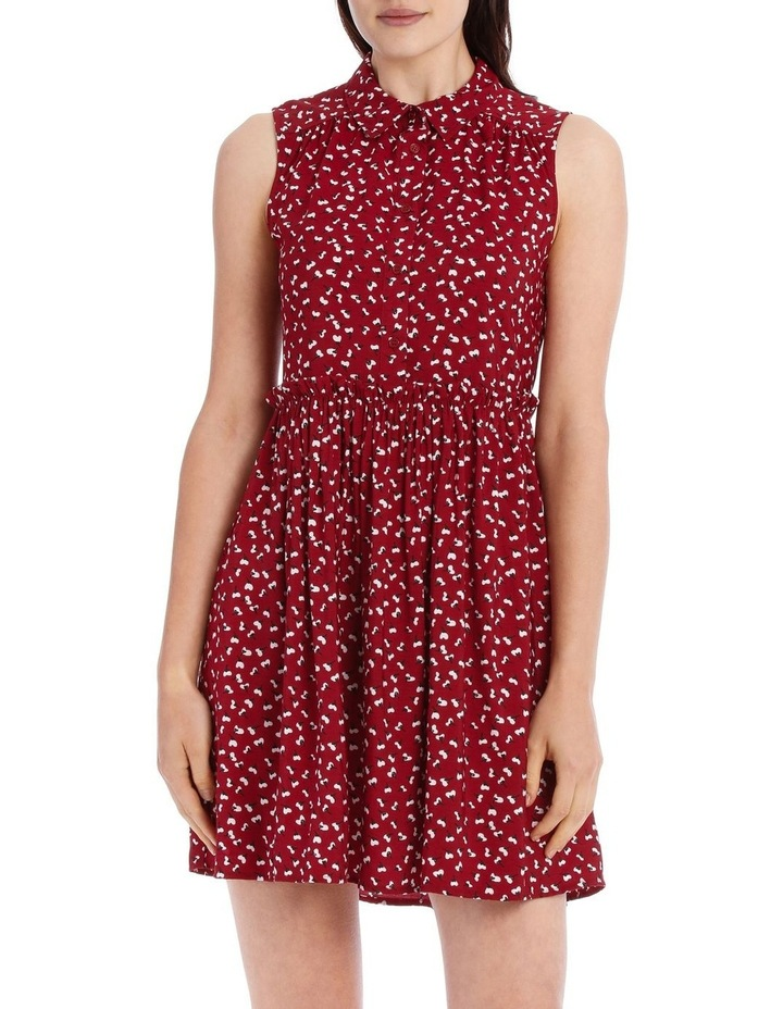 Sleeveless Shirt Dress image 1