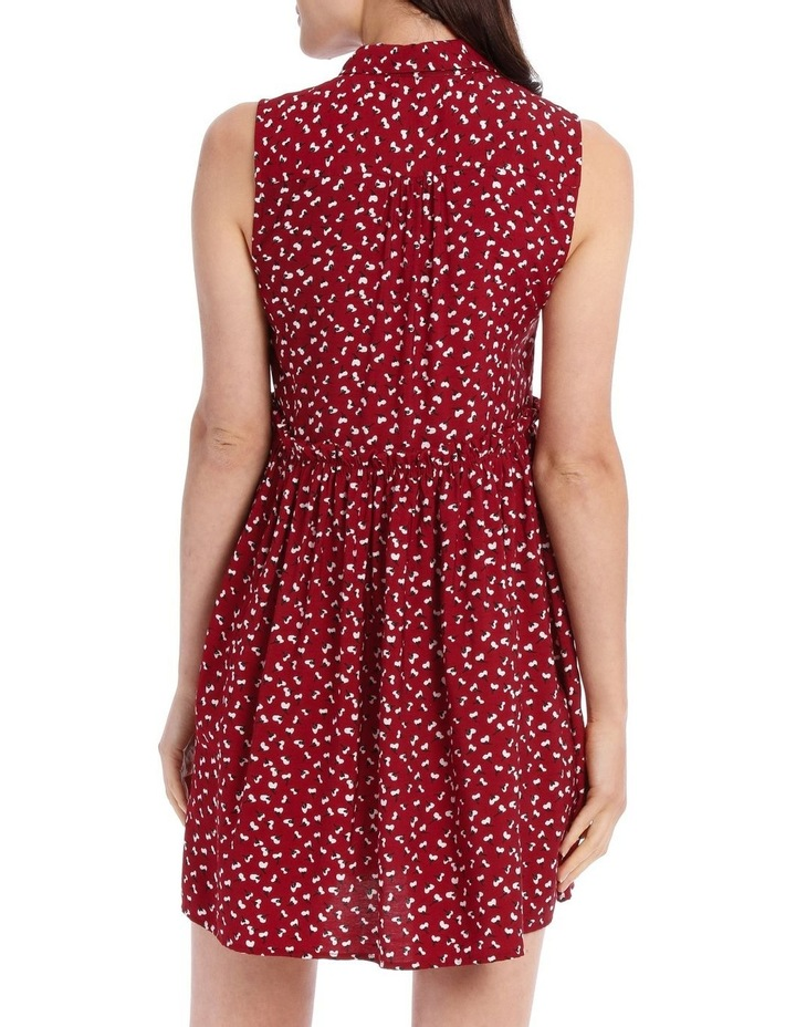 Sleeveless Shirt Dress image 3