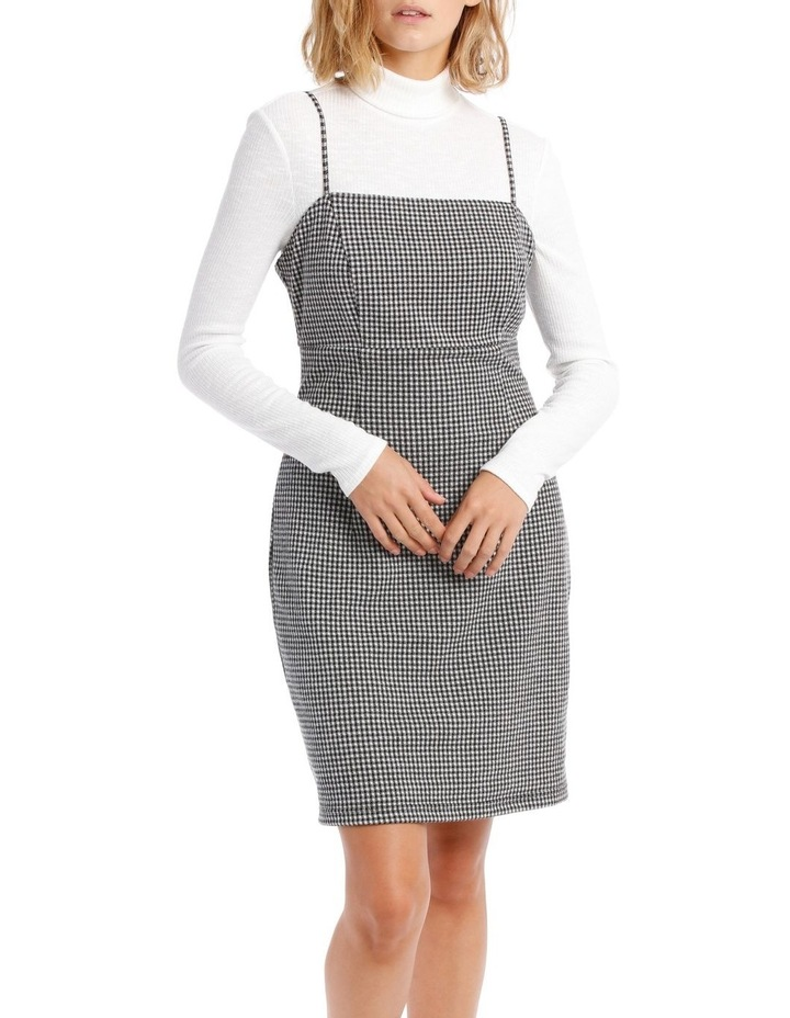 Check Pinafore Dress image 1