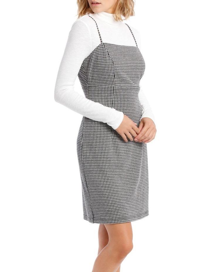 Check Pinafore Dress image 2