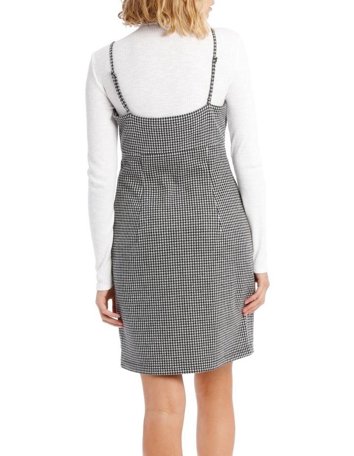 Check Pinafore Dress image 3