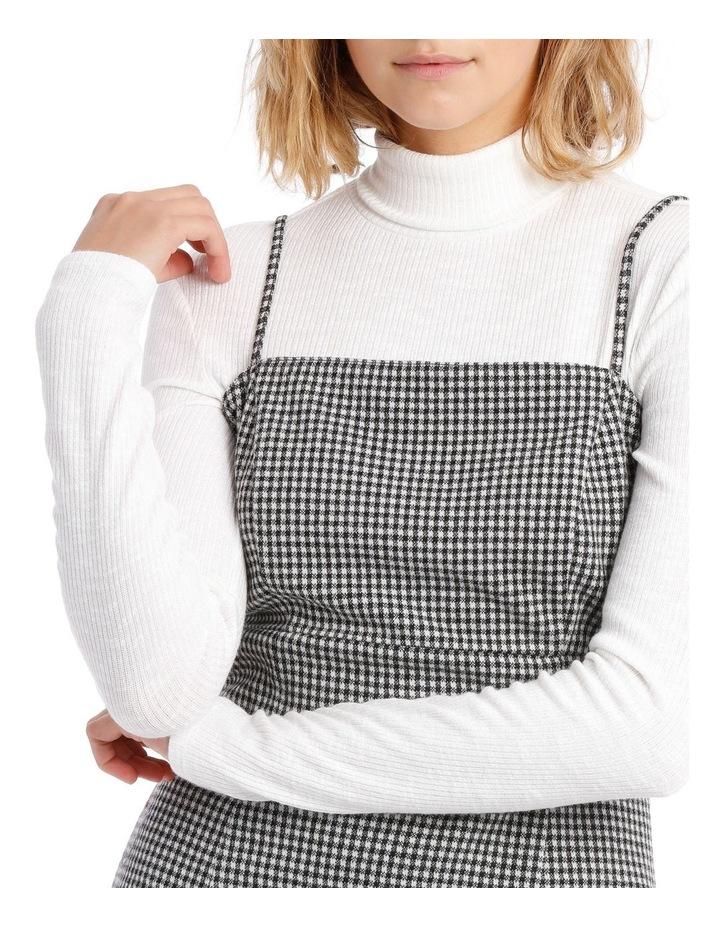 Check Pinafore Dress image 4