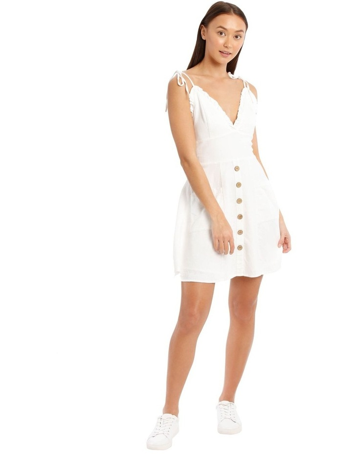 Ruffle Detail Button Dress image 1