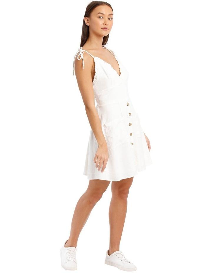 Ruffle Detail Button Dress image 2