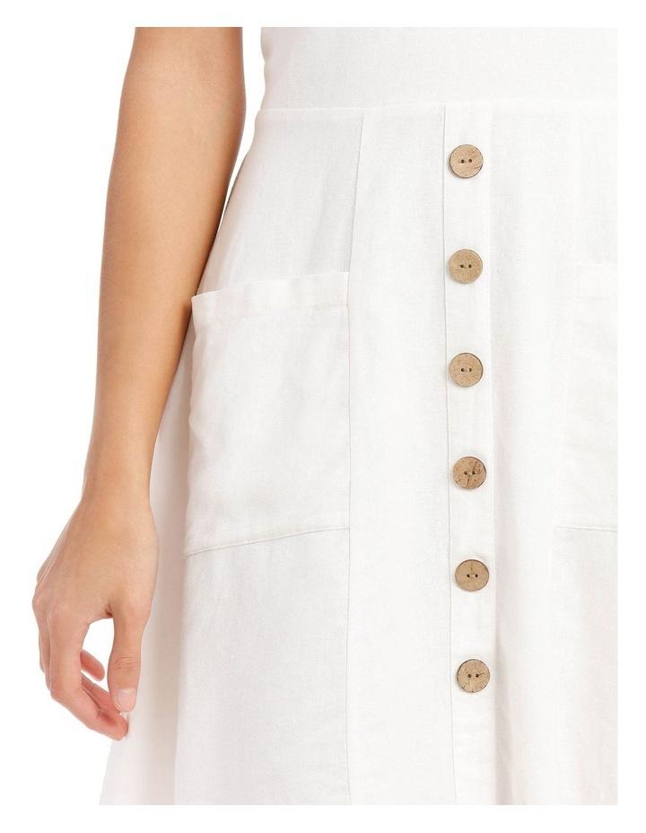 Ruffle Detail Button Dress image 4