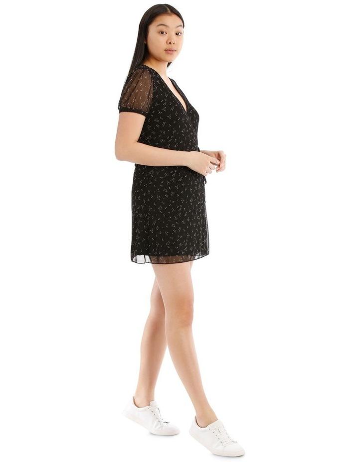 Mesh Wrap Dress image 2